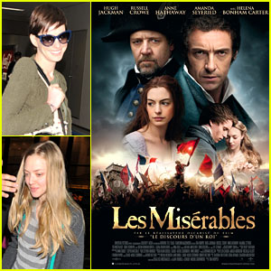 Anne Hathaway & Amanda Seyfried: New 'Les Miserables' Poster!