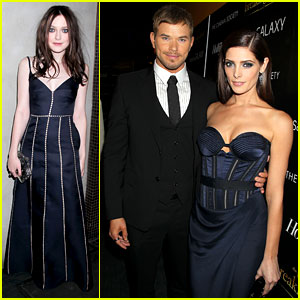 Ashley Greene & Kellan Lutz: 'Breaking Dawn' NYC Screening!