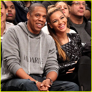 Beyonce: Post-Thanksgiving Brooklyn Nets Game with Jay-Z!