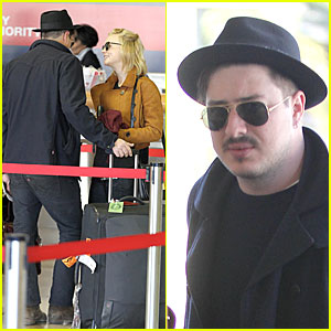 Carey Mulligan & Marcus Mumford: LAX Departing Couple!