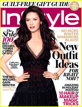 Catherine Zeta-Jones Covers 'InStyle' December 2012