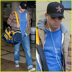 Channing Tatum: Thanksgiving Day Arrival!