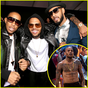 Chris Brown, Ludacris, & Swizz Beatz - AMAs Performance!