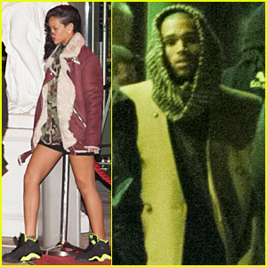 Rihanna & Chris Brown: Thanksgiving in Berlin!