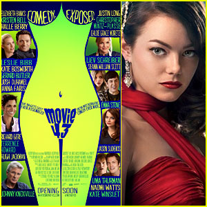 Emma Stone: New 'Movie 43' & 'Gangster Squad' Posters!