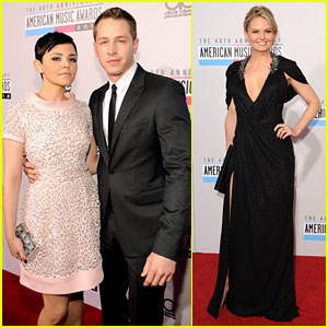 Ginnifer Goodwin & Jennifer Morrison - AMAs 2012 Red Carpet