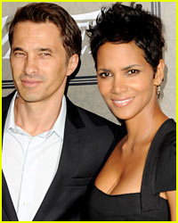 Halle Berry & Olivier Martinez: Quick Thanksgiving