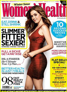Isla Fisher Covers 'Women's Health UK' December 2012