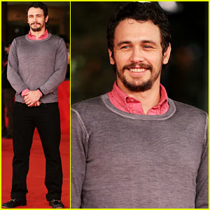 James Franco: Rome Film Festival Attendee!