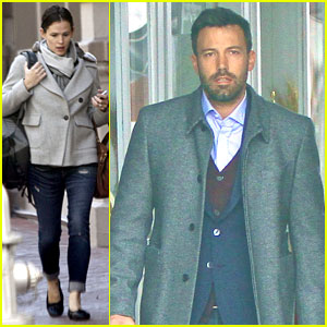 Jennifer Garner &#038; Ben Affleck: Separate Coffee Outings!
