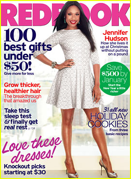 Jennifer Hudson Covers 'Redbook' December 2012