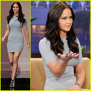Jennifer Lawrence: 'Tonight Show with Jay Leno' Appearance!