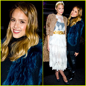 Jessica Alba & Jaime King: 'Sin City: Dame To Kill For' Production Launch Party!