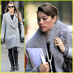 Jessica Biel: Post-Honeymoon Smile in New York Ci