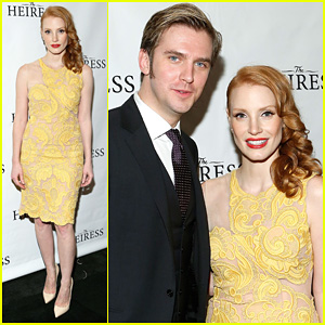 Jessica Chastain & Dan Stevens: 'Heiress' Opening Night!