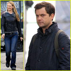 Joshua Jackson: 'Fringe' Filming with Anna Torv!