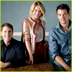 Julianne Hough &#038; Josh Duhamel Chat Nicholas Sparks' 'Safe Haven' with 'THR'