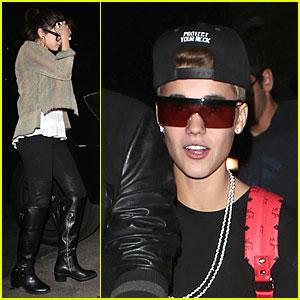 Justin Bieber & Selena Gomez: Benihana Dinner Date!