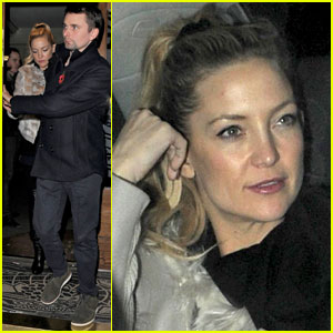 Kate Hudson & Matt Bellamy: London Date Night!