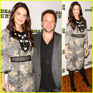Katie Holmes: 'Dead Accounts' Opening Night on Broadway!