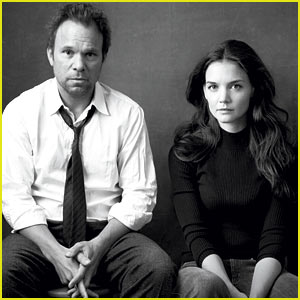 Katie Holmes: 'Dead Accounts' Vogue Feature with Norbert Leo Butz!