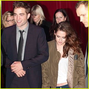 Kristen Stewart Dresses Down for UK Premiere Departure