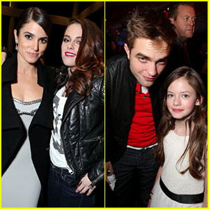 Kristen Stewart & Robert Pattinson: 'Twilight Saga: Breaking Dawn - Part 2' Premiere After Party!