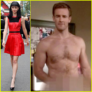 Krysten Ritter: James Van Der Beek Goes Naked on 'Apt. 23'