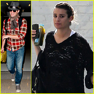 Lea Michele Accidentally Served Cory Monteith Raw Eggs!