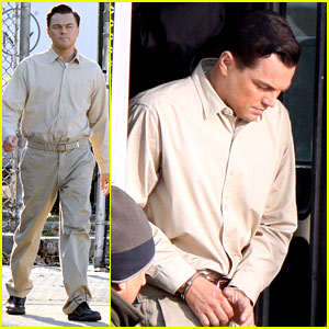 Leonardo DiCaprio: Handcuffed Inmate on Set!