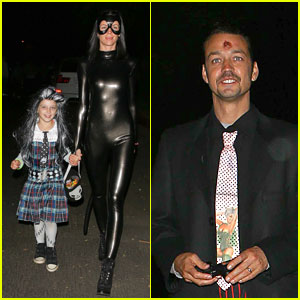 Rupert Sanders & Liberty Ross: Halloween Hugging Couple!