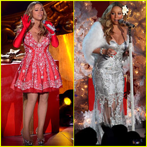 Mariah Carey: Rockefeller Christmas Tree Lighting Performance!