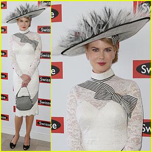 Nicole Kidman: First AAMI Victoria Derby!