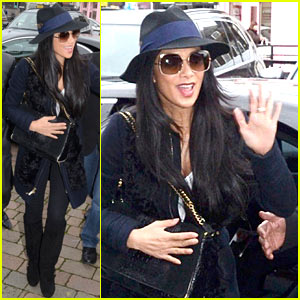 Nicole Scherzinger: Amy Childs Salon Beauty