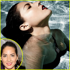 Olivia Munn: 'Vanity Fair' Poolside Feature!