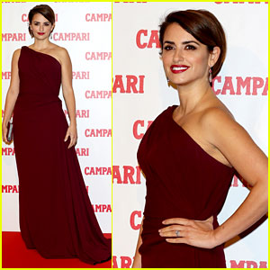 Penelope Cruz: Campari Calendar Launch Event!