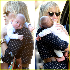 Reese Witherspoon &#038; Baby Tennessee: Los Angeles Outing!