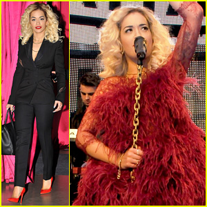 Rita Ora: Vip Room Paris Showcase!