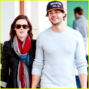 Rumer Willis & Jayson Blair: Romantic Walk in Beverly Hills