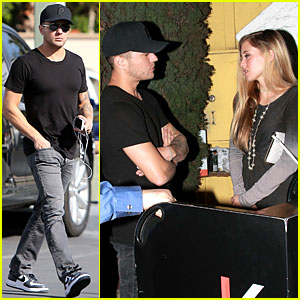 Ryan Phillippe: Date Night with Paulina Slagter!