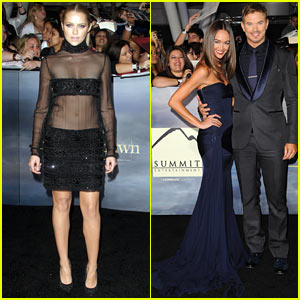 Teresa Palmer: 'Twilight Breaking Dawn Part 2' Premiere!