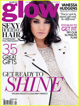 Vanessa Hudgens Covers 'Glow' Magazine's Winter 2012 Issue