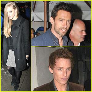 Amanda Seyfried & Hugh Jackman: Pre-Golden Globes Nominee Party!