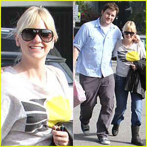 Anna Faris & Chris Pratt: Rite-Aid Shopping Couple!