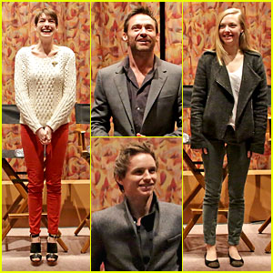 Anne Hathaway & Amanda Seyfried: 'Les Miserables' SAG Screening!
