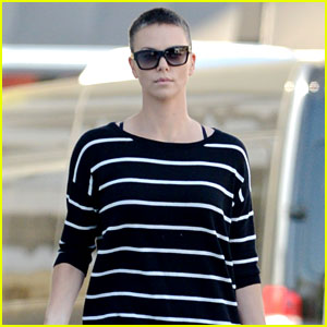 Charlize Theron: Pharmacy Stop in Los Angeles!