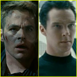 Chris Pine & Benedict Cumberbatch: 'Star Trek Into Darkness' Trailer!