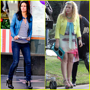 Courteney Cox: Back to Work on 'Cougar Town'!