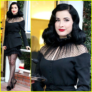 Dita Von Teese: 'Rouge' Perfume Launch!