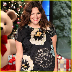 Drew Barrymore Talks Baby O